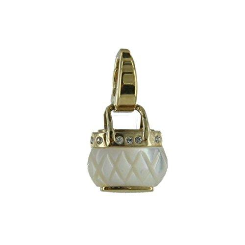 Fossil Damen-Charm Handtasche gold Edelstahl JF83956040