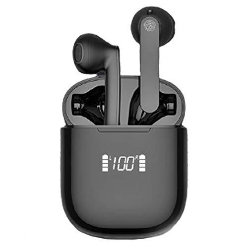 GFEIW Compatible con Auriculares inalámbricos iOS y Android Bluetooth 5.0 Auriculares con Control táctil