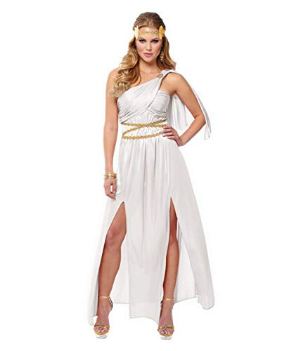 Horror-Shop Griechische Göttin Athena Kostüm für Faschingsbälle S