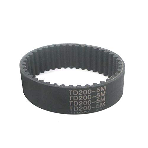 1/2 / 5pcs HTD5M de correas dentadas 170/175/180/200/205/210/215/220/225/230/235 mm 15/20/25 mm Anchura Timing polea de la correa de lazo cerrado Synchronous Belt ( Color : 170mm , tamaño : 1pc 20mm )