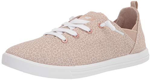 Roxy Libbie Damen Slip-on Sneaker Schuh, (Gepardenmuster), 42 EU