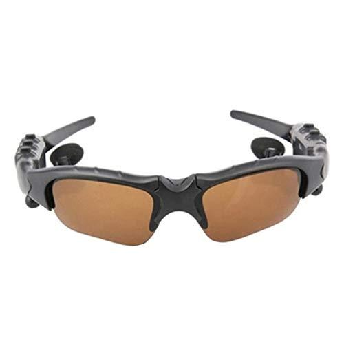 Kongqiabona-UK Sport Stereo Wireless 4.1 Headset Phone Gafas de Sol para Conducir / Mp3 Riding Eyes Gafas con Lentes de Sol de Colores