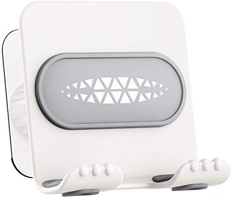 LITT TECH Shower Phone Holder Waterproof Phone Mount Office Kitchen Desk Bathroom Phone Holder product image