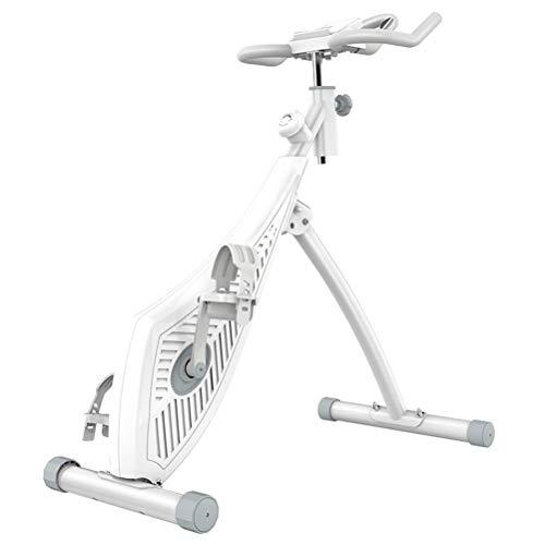 VVBGTS Plegable Mountainbike La Aptitud de Bicicletas, magnética Spinning Control de casa en Bicicleta la Bicicleta estática Plegable clásico Pequeño Vertical Inicio Deportes Bicicleta de Ejercicio