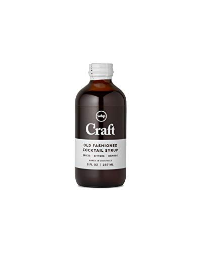 W&P Craft Cocktail Syrup, Old Fashioned | 8 Ounce | Cocktail Mixer, Handcrafted in Small Batches, Craft Cocktail, Bar Collection