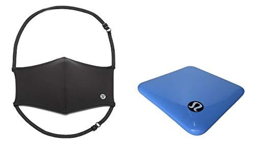 Lululemon Double Strap Face Mask (Black with Lululemon Case)