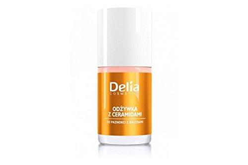 Vernis soins à la céramides - Pour ongles rugueux et sillonnée - Delia cosmetics
