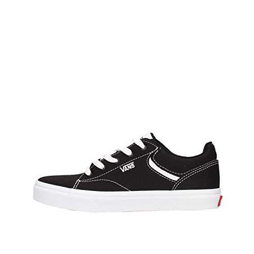 Vans Seldan Sneaker, Schwarz ((Canvas) Black/White 187), 38 EU