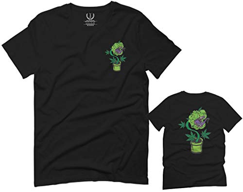 Funny 420 Stoned Day Weed Marijuana Kush Pot Leaf Cannabis Plant for Men T Shirt