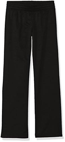 Hanes Girls' Big Tech Fleece Open Leg Pant, Black, X Small Now $4.98 (Was $14.00)