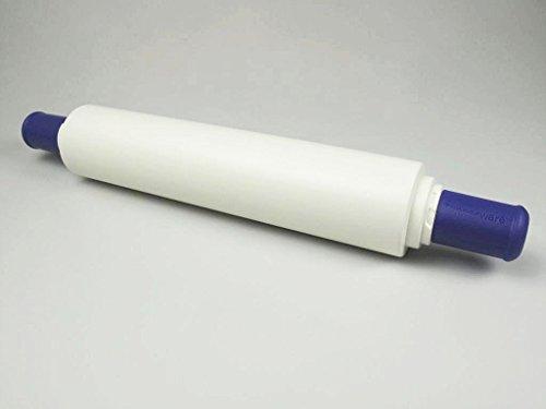 TUPPERWARE Backen Profi-Teigrolle blau-lila Backhelfer D06 Nudelholz Back'n'roll P 17688