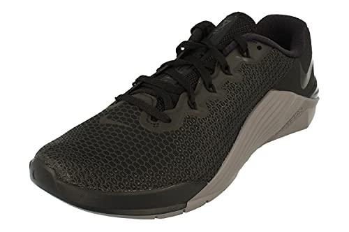 Nike Metcon 5 - Scarpe da fitness unisex per adulti, Nero (Nero Gunsmoke 001), 46 EU