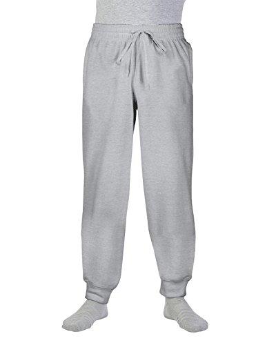 Gildan Heavy Blend™ Sweatpants with Cuff in Sport Grey Größe: L