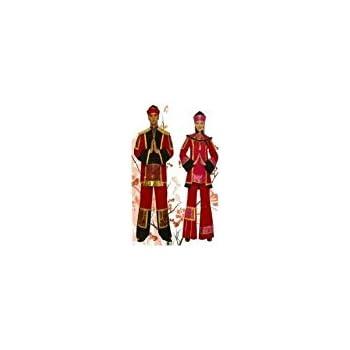 Carassa Disfraz Emperador Chino Adulto T. U: Amazon.es: Ropa y ...