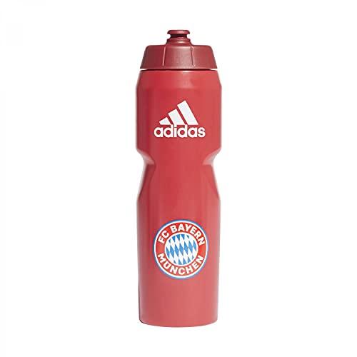 adidas FCB Bottle Bottiglia, Adulti Unisex, Rosso FCB/Bianco (Rosso), Taglia Unica
