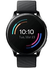 OnePlus Watch - Bluetooth 5.0 Smart Watch met een batterijduur van 14dagen en 5ATM + IP68 Waterbestendigheid - Midnight Black