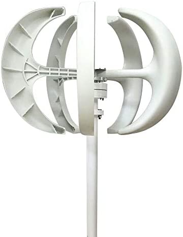 LOYALHEARTDY Wind Turbine Generator 12V 600W 5 Blades Vertical Axis Wind Turbine Kit 2m s Low product image