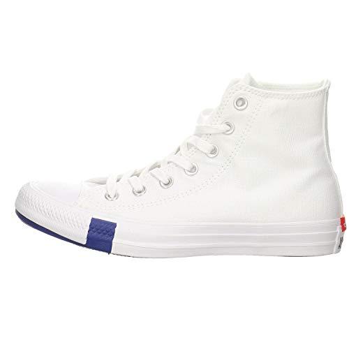 Converse All Star Multi Logo Hi Sneakers Bianche da Donna-UK 7 / EU 40