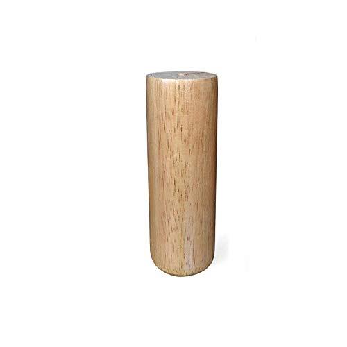 YXB Sofa benen massief hout voeten cilindrische voet tafel TV kast nachtkastje tafel salontafel voet ondersteuning verhogen houten meubels accessoires