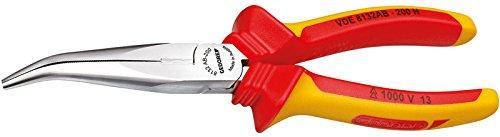 Preisvergleich Produktbild GEDORE 8132 AB-160 H VDE-Flachrundzange mit Hüllenisolierung 160 mm