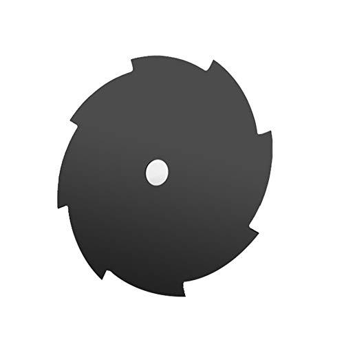 WOIA Cuchilla para cortacésped Cortadora de césped Circular Cortadora de Hoja de Sierra de Cepillo 80/60/40/8/4 / 3T, Negro