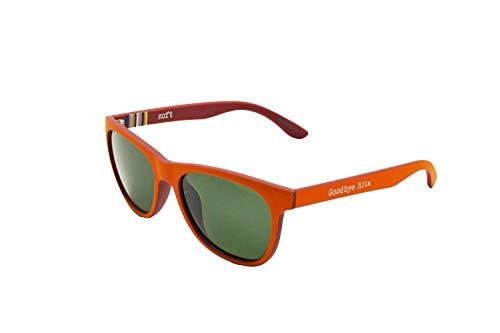 Goodbye, Rita. - Gafas de sol Polarizadas doble color Naranaja y Burdeos - Lente Ahumada - Modelo Jagger