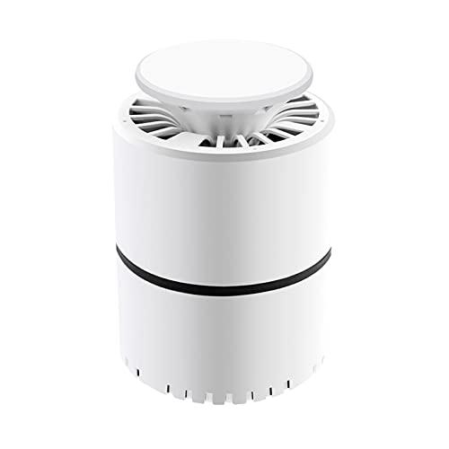 Gazaar Linterna de camping portátil 2 en 1 para asesino de mosquitos,recargable por USB,lámpara repelente de 4400mAh,resistente al agua de bajo ruido,para senderismo,pesca al aire libre,tienda,blanco