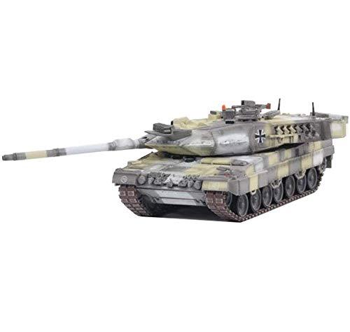 LINANNAN CMO 1/72 Skala Diecast-Tank-Metallmodell, Leopard 2A7 Hauptkampf-Tank Deutsches Stadtkampfmodell, Militärspielzeug und Geschenke, 6,1 Zoll x 1.9 Zoll