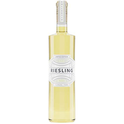 Kollektiv IV Riesling Trocken – 1x 0,75l Weißwein regional produziert – Hochwertiger Bio Vegan Wein – Nachhaltiger Weisswein – Premium White Wine Limited Edition
