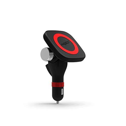 Cargador de Carga inalámbrico montado en vehículo magnético Inteligente para automóvil para iPhone6Plus Negro para iPhone6S