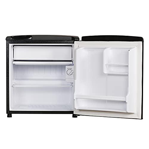 Haier 53 L 2 Star Direct-Cool Single Door Mini Refrigerator (HR-65KS, Black)
