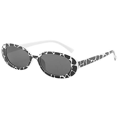 Battnot Sonnenbrille Damen Herren, Vintage Unisex Kleiner Rahmen Herz Unregelmäßige Form Sonnenbrille Mode Brillen Männer Frauen Billig Glas-Weinlese-Retrostil Sunglasses Super Coole Travel Eyewear