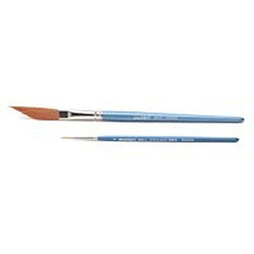 Pinsel Set 526 NY 1 Schwertschlepper Gr. 2, 1 Pinsel Gr. 1, synth. Golden Sable Haar