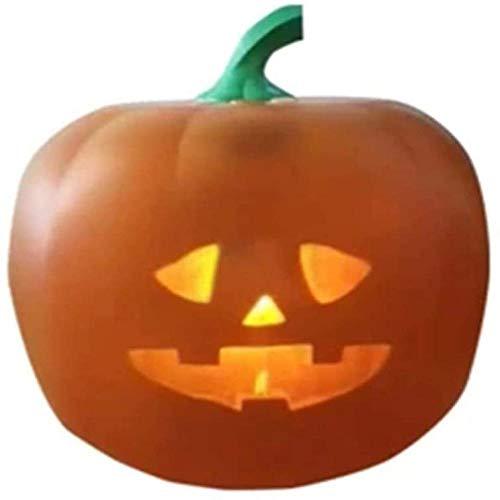 Halloween Flash Talking animierte LED Kürbis Projektionslampe, Halloween Dekoration , LED Projektor Lampe Nachtlicht Projektor für Home Party (Slly Pumpkin)