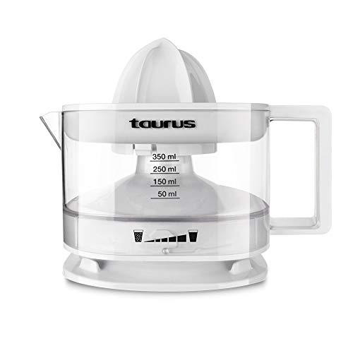 Taurus 924244000 Exprimidor, 800 W, 0.35 litros, PU, Color Blanco