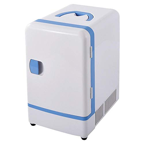 Doble uso 12 V 7 L Mini nevera portátil coche multifuncional calentador de viaje hogar camping refrigerador refrigerador refrigerador