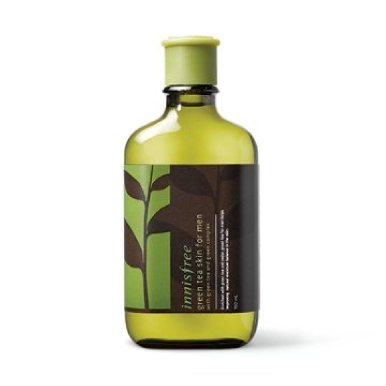 禁輸汚物へこみ【イニスフリー】Innisfree green tea skin for men - 150ml (韓国直送品) (SHOPPINGINSTAGRAM)