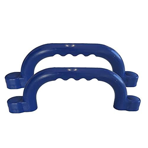 Gartenpirat Haltegriffe blau Zubehör Spielanlagen Set mit 2 Handgriffe für Kinder