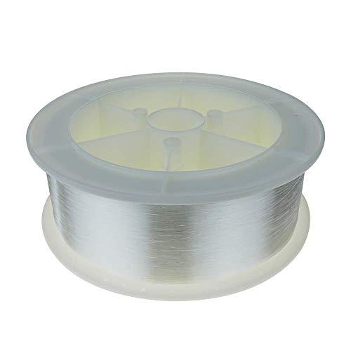 BeMatik - Bobina de fibra óptica de iluminación por LED 1 mm 1500 m Iluminación estrellas de techo