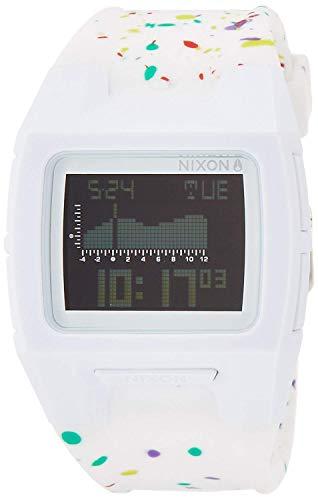 [ニクソン] NIXON 腕時計 ローダウン シリコン ホワイト マルチ スペックル A2812313 メンズ レディース [...