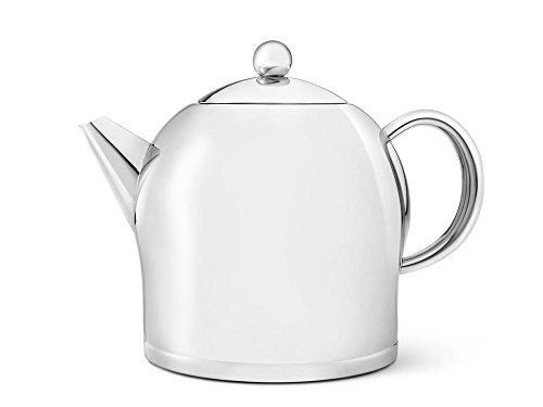 Bredemeijer Teekanne Santhee 2,0L, glänzend, Edelstahl, Silberfarben, 17.5 x 25.6 x 20.9 cm