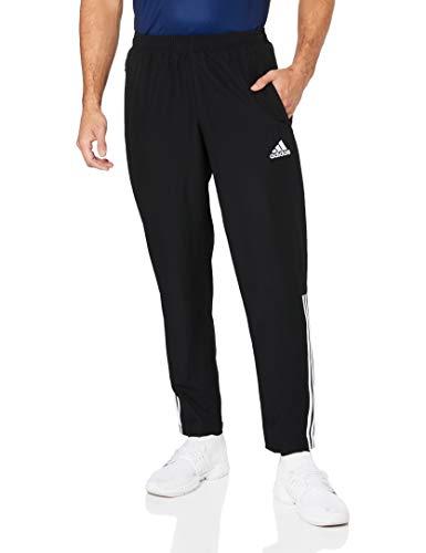 adidas Herren REGI18 WOV PNT Sport Trousers, Black/White, M