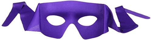Forum Novelties Mens Purple Masked Man with Ties Venetian Mardi Gras Mask Costume Accessory