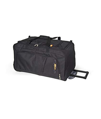 Gabol - Week | Bolso con Ruedas de Viaje Grande de Tela de 73 x 38 x 34 cm con Capacidad para 94 L de Color Negro