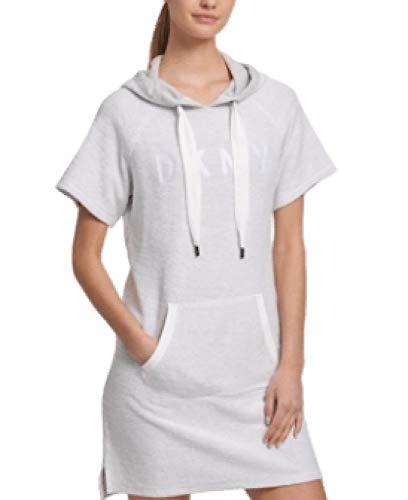 DKNY Sport Hoodie Sneaker Dress Grey M