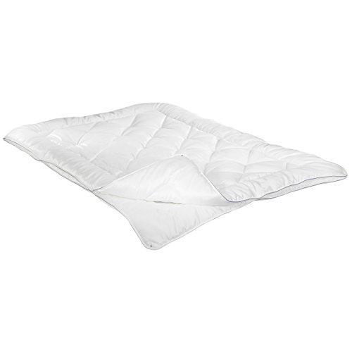 Irisette Vier-Jahreszeiten-Bett Textilfaser Dieses Produkt enthält Tencel? Lyocell-Fasern weiß Größe 155x220 cm