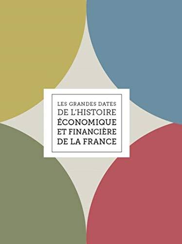 Les grandes dates de l'histoire économique et financière de la France