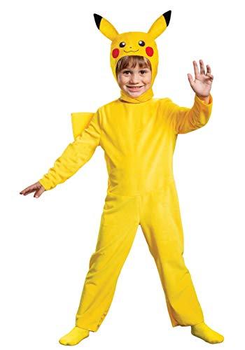 Disguise Pikachu Pokemon Toddler Costume Yellow, L (4-6)