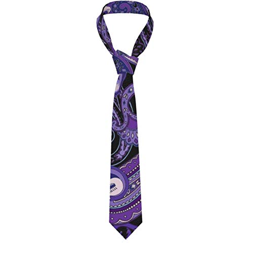 Pajaritas para hombre, estilo informal, esmoquin para caballero, estampado grande, cachemira, príncipe, cancionero, ajustable, clásica corbata