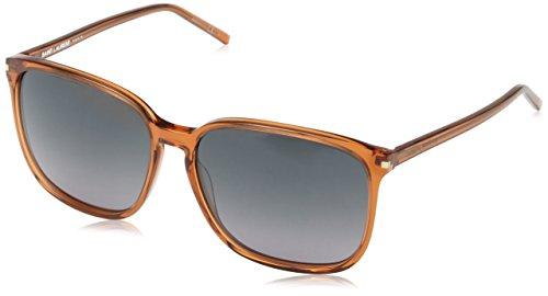 Yves Saint Laurent SL 37 6J6 gafas de sol, Gris (Brown), Talla única (Talla del fabricante: One size) para Mujer